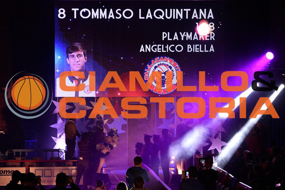 DESCRIZIONE : Mantova LNP 2014-15 All Star Game 2015<br /> GIOCATORE : Tommaso Laquintana<br /> CATEGORIA : Presentazione Before Spettacolo<br /> EVENTO : All Star Game LNP 2015<br /> GARA : All Star Game LNP 2015<br /> DATA : 06/01/2015<br /> SPORT : Pallacanestro <br /> AUTORE : Agenzia Ciamillo-Castoria/ GiulioCiamillo<br /> Galleria : LNP 2014-2015 <br /> Fotonotizia : Mantova LNP 2014-15 All Star game 2015<br /> Predefinita :
