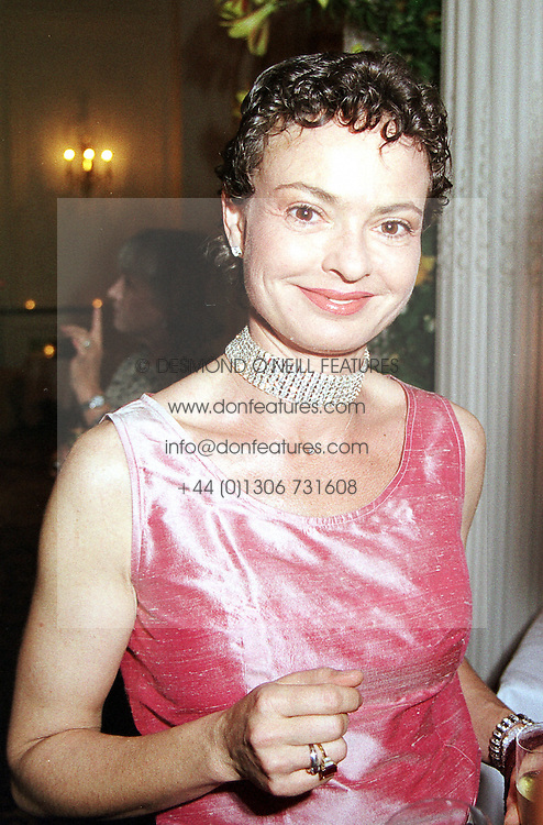 COUNTESS MAYA VON SCHONBURG ZU GLAUCHAU <br /> & WALDENBURG former wife of Friedrich Christian Flick,<br />  at a party in London on 13th June 2000.OFC 47<br /> © Desmond O'Neill Features:- 020 8971 9600<br />    10 Victoria Mews, London.  SW18 3PY <br /> www.donfeatures.com   photos@donfeatures.com<br /> MINIMUM REPRODUCTION FEE AS AGREED.<br /> PHOTOGRAPH BY DOMINIC O'NEILL