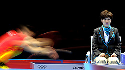 Aug. 6, 2012 - London, England, United Kingdom - .Women's table tennis, Illustration.© pixathlon