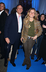 The HON.SIR ROCCO & LADY FORTE  at a VIP party to celebrate the launch of the new Fiat Punto held at the Truman Brewery 91 Brick Lane, Loncon on 19th January 2006.<br /><br />NON EXCLUSIVE - WORLD RIGHTS