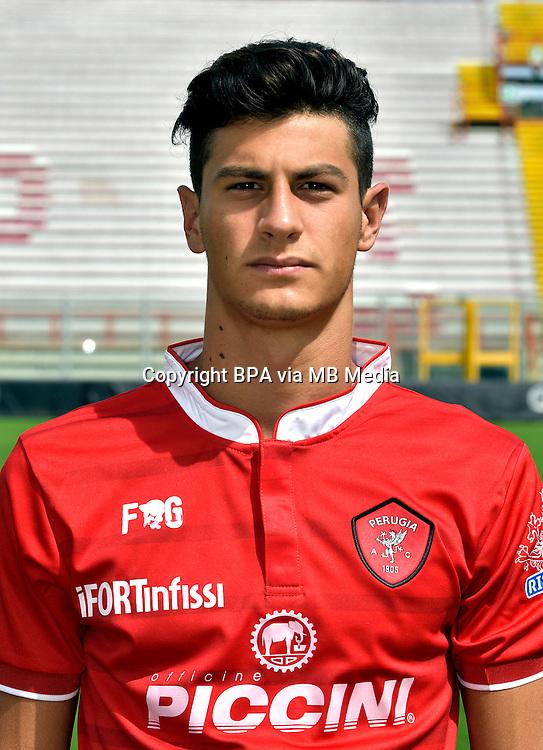 Italian League Serie B_2015-2016 / <br /> ( AC Perugia 1905 ) - <br /> Mattia Proietti
