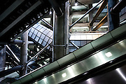 London | 09 Apr 2010<br /> <br /> Westminster Station staircase and escalators, structure.<br /> <br /> &copy;peter-juelich.com<br /> <br /> [No Model Release | No Property Release]