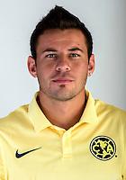 "Mexico League - BBVA Bancomer MX 2014-2015 -<br /> Aguilas - Club de Futbol America / Mexico - <br /> Gonzalo Orlando Diaz Nachar "" Gonzalo Diaz """