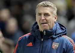 Manager of Brentford, Dean Smith - Mandatory byline: Paul Terry/JMP - 05/02/2016 - FOOTBALL - Falmer Stadium - Brighton, England - Brighton v Brentford - Sky Bet Championship