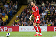 Watford goalkeeper Ben Foster (26) during the Premier League match between Watford and Manchester United at Vicarage Road, Watford, England on 15 September 2018.