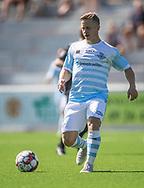 Jeppe Kjær (FC Helsingør) under kampen i 2. Division mellem FC Helsingør og Vanløse IF den 24. august 2019 på Helsingør Ny Stadion (Foto: Claus Birch).