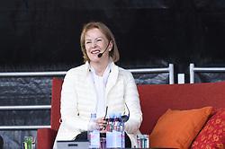 August 19, 2017 - TorshäLla, Sweden - Former ABBA member Anni-Frid Lyngstad participates in the 700th anniversary of her home town Torshälla..2017-08-19..(c) Karin Törnblom / IBL BildbyrÃ¥..XPBE INGÃ…R EJ I AVTAL....Anni-Frid Lyngstad, Torshälla firar 700 Ã¥r 2017-08-19. (Credit Image: © Karin TöRnblom/IBL via ZUMA Press)