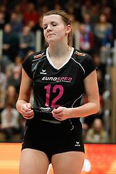 20180218 NED: Bekerfinale Eurosped - Sliedrecht Sport, Hoogeveen <br />Rochelle Wopereis (12) of Team Eurosped<br />&copy;2018-FotoHoogendoorn.nl