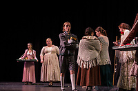 Oliver dress rehearsal at Gilford High School.  Karen Bobotas for the Laconia Daily Sun