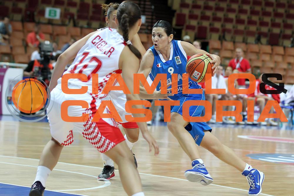 DESCRIZIONE : Katowice Poland Polonia Eurobasket Women 2011 Round 1 Croazia Grecia Croatia Greece<br /> GIOCATORE : Evanthia Maltsi<br /> SQUADRA : Grecia Greece<br /> EVENTO : Eurobasket Women 2011 Campionati Europei Donne 2011<br /> GARA : Croazia Grecia Croatia Greece<br /> DATA : 19/06/2011<br /> CATEGORIA : <br /> SPORT : Pallacanestro <br /> AUTORE : Agenzia Ciamillo-Castoria/E.Castoria<br /> Galleria : Eurobasket Women 2011<br /> Fotonotizia : Katowice Poland Polonia Eurobasket Women 2011 Round 1 Croazia Grecia Croatia Greece<br /> Predefinita :
