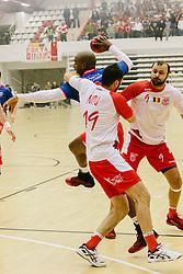 Dinamo Bucuresti - Steaua Bucuresti 26:27 (14:13) in etapa a XII-a din Liga Nationala de handbal masculin, luni 17 noiembrie 2014
