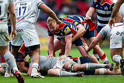 Will Hurrell of Bristol Rugby in action - Rogan Thomson/JMP - 26/02/2017 - RUGBY UNION - Ashton Gate Stadium - Bristol, England - Bristol Rugby v Bath - Aviva Premiership.