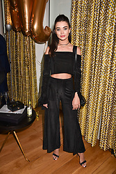 Amy Jackson at the Rosie Fortescue Jewellery Launch, Brown's Hotel London England. 10 May 2017.<br /> Photo by Dominic O'Neill/SilverHub 0203 174 1069 sales@silverhubmedia.com