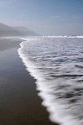 Incoming wave at Crescent Beach, Redwood National Park, near Crescent City, California