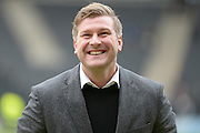 MK Dons manager Karl Robinson during the Sky Bet Championship match between Milton Keynes Dons and Queens Park Rangers at stadium:mk, Milton Keynes, England on 5 March 2016. Photo by Dennis Goodwin.