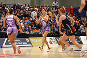 Stars Kayla Cullen. ANZ Premiership Netball, Northern Stars v Splice Construction Magic, Bruce Pulman Arena, Auckland, Monday 8th April 2019. Copyright Photo: Shane Wenzlick / www.photosport.nz