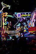 Soi Cowboy area with go-go dancers galore