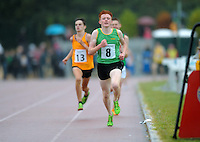 21 Aug 2016:  Ruarcon O'Gibne, from Meath, on his way to winning the Boys U16 1500m final.  2016 Community Games National Festival 2016.  Athlone Institute of Technology, Athlone, Co. Westmeath. Picture: Caroline Quinn
