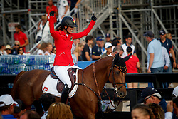 BLUM Simone (GER), DSP Alice<br /> Tryon - FEI World Equestrian Games™ 2018<br /> FEI World Individual Jumping Championship<br /> Third cometition - Round A<br /> 3. Qualifikation Einzelentscheidung 1. Runde<br /> 23. September 2018<br /> © www.sportfotos-lafrentz.de/Dirk Caremans