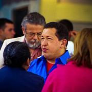 VENEZUELAN POLITICS / POLITICA EN VENEZUELA<br /> Portrait of Hugo Chavez Frias / Retrato de Hugo Chavez Frias<br /> Caracas - Venezuela 2006<br /> (Copyright © Aaron Sosa)