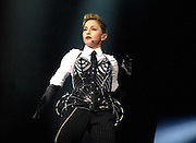 12.NOVEMBER.2012. NEW YORK<br /> <br /> MADONNA PERFORMS FOR VICTIMS OF HURRICANE SANDY IN NYC DURING THE MDNA TOUR, AT MADISON SQUARE GARDEN<br /> <br /> BYLINE: EDBIMAGEARCHIVE.CO.UK<br /> <br /> *THIS IMAGE IS STRICTLY FOR UK NEWSPAPERS AND MAGAZINES ONLY*<br /> *FOR WORLD WIDE SALES AND WEB USE PLEASE CONTACT EDBIMAGEARCHIVE - 0208 954 5968*