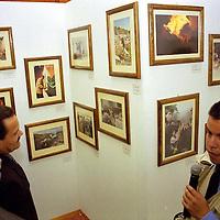 """Toluca, Méx.- Inauguración de la exposición """"Memoria Colectiva"""" en la cámara de diputados con obras de los reporteros gráficos del Valle de Toluca. Agencia MVT / Mario Vázquez de la Torre."""