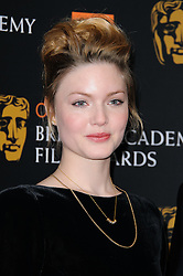 Holliday Grainger at the Orange British Academy Film Awards Nominations announcement,London, Tuesday January 17, 2011. Photo By i-Images