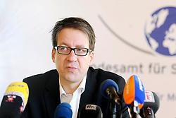 Pressekonferenz von Niedersachens Umweltminister Stefan Birkner (FDP) anlässlich seines Besuchs im Zwischenlager Gorleben. Im Bild: Umweltminister Stefan Birkner (FDP) <br /> <br /> Ort: Gorleben<br /> Copyright: Annett Melzer<br /> Quelle: PubliXviewinG