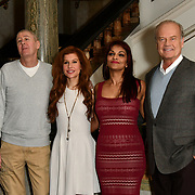 Photocall: Kelsey Grammer, Nicholas Lyndhurst and the lead cast of Man of La Mancha, London, UK