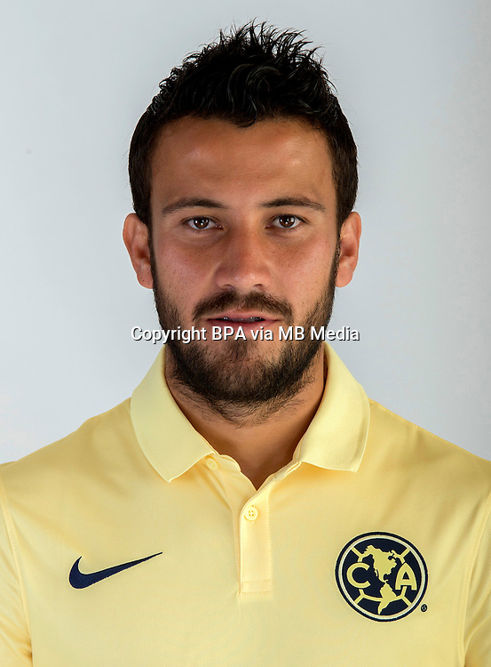 Mexico League - BBVA Bancomer MX 2014-2015 -<br /> Aguilas - Club de Futbol America / Mexico - <br /> Jose Daniel Guerrero