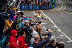 05-11-2017 USA: NYC Marathon, New York<br /> De dag van de marathon, 42 km en 195 meter door de straten van Staten Island, Brooklyn, Queens, The Bronx en Manhattan / Miranda Boonstra