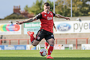 Morecambe Striker Cole Stockton during the EFL Sky Bet League 2 match between Morecambe and Carlisle United at the Globe Arena, Morecambe, England on 8 October 2016. Photo by Pete Burns.