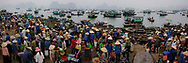 Vietnam Images-panoramic landscape-market-people hoàng thế nhiệm