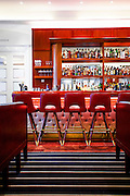 The bar at Lure Fishbar in the Loews Miami Beach Hotel