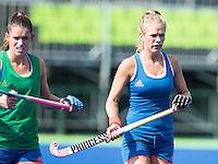 RIO DE JANEIRO (Brazilie) - De dames  van Oranje trainen vanmiddag in het Olympische hockeystadion . Kitty van Male (Ned)    COPYRIGHT KOEN SUYK