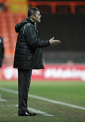 Bristol City manager, Steve Cotterill - Photo mandatory by-line: Dougie Allward/JMP - Mobile: 07966 386802 - 10/02/2015 - SPORT - Football - Bristol - Ashton Gate - Bristol City v Port Vale - Sky Bet League One
