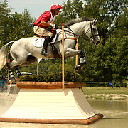 Bruce Davidson (USA) and Jam at the 2007 Maui Jim Horse Trials held in Wayne, IL, USA