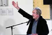 Midas Dekkers haalt weer uit naar Freek Vonk tijdens zijn toespraak bij de opening van Een Koninklijk Paradijs - Aert Schouman en de verbeelding van de natuur in het Dordrechts Museum.
