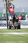 Anquan Boldin and NFL players participated in the 2004 NFL Quarterback Challenge in Santa Monica, CA on 04/24/2004. ©Paul Anthony Spinelli