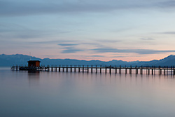 """""""Sunset at Lake Tahoe 15"""" - This sunset was photographed from Commons Beach in Tahoe City, CA."""