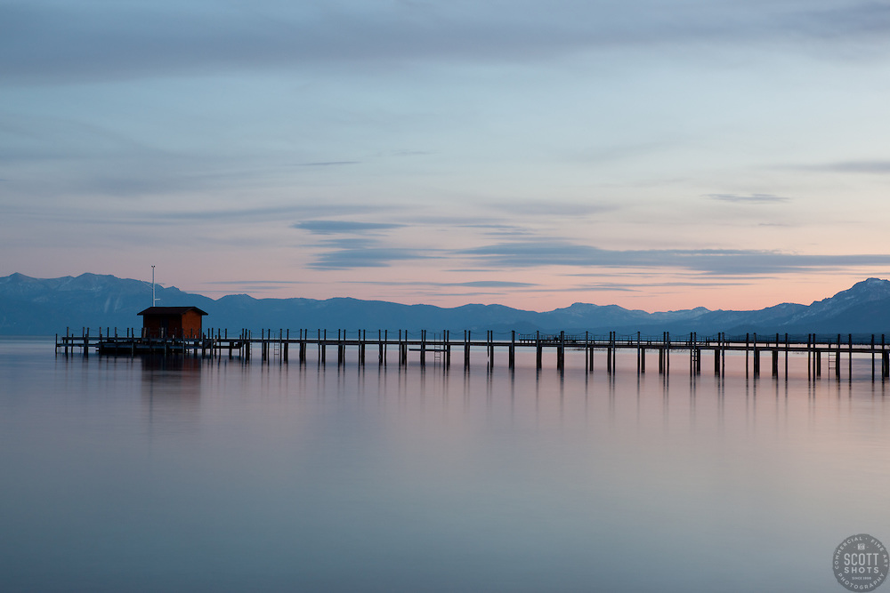 """Sunset at Lake Tahoe 15"" - This sunset was photographed from Commons Beach in Tahoe City, CA."