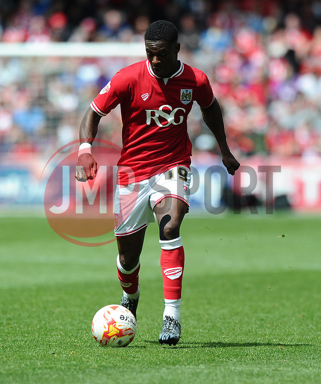 Bristol City's Kieran Agard  - Photo mandatory by-line: Joe Meredith/JMP - Mobile: 07966 386802 - 03/05/2015 - SPORT - Football - Bristol - Ashton Gate - Bristol City v Walsall - Sky Bet League One