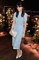 LILAH PARSONS at the Lancôme pre BAFTA party held at The London Edition, 10 Berners Street, London on 14th February 2014.