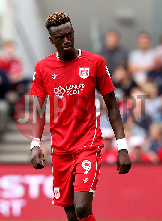 Tammy Abraham of Bristol City - Mandatory by-line: Robbie Stephenson/JMP - 17/09/2016 - FOOTBALL - Ashton Gate Stadium - Bristol, England - Bristol City v Derby County - Sky Bet Championship