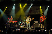 Ian McLagan and the Bump Band performs at a benefit for Austin Child Guidance Center at La Zona Rosa, Austin Texas, July 2, 2009.  Austin Child Guidance Center provides mental health services for children and their families as well as community education. Ian 'Mac' McLagan can comfortably claim rock icon status, having written many Faces hits as well as touring and recording with the Rolling Stones.