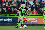 Forest Green Rovers Carl Winchester(7) during the EFL Sky Bet League 2 match between Forest Green Rovers and Walsall at the New Lawn, Forest Green, United Kingdom on 8 February 2020.