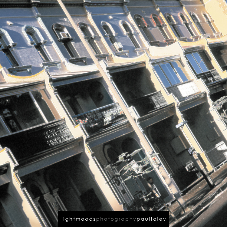Victorian Terrace Buildings - Newcastle Australia