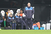 Mark Robinson (Manager) of AFC Wimbledon during the FA Youth Cup match between Newcastle United and AFC Wimbledon at St. James's Park, Newcastle, England on 6 January 2016. Photo by Stuart Butcher.
