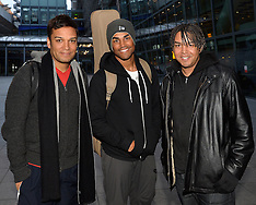 FEB 17 2014 Michael Jackson's Nephews 3T Arrive