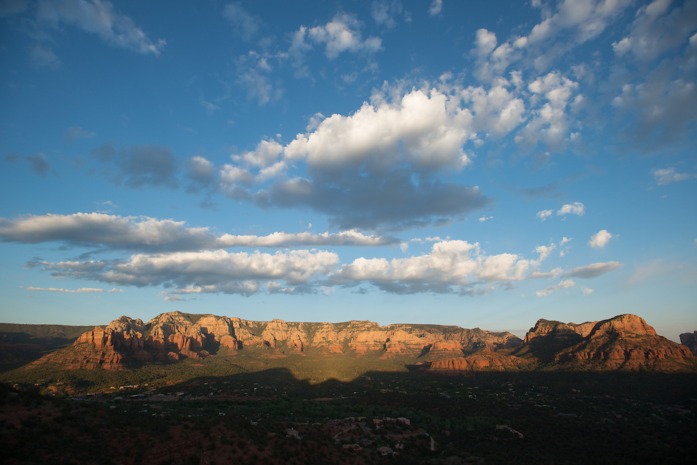 Sedona Landscape with Blue Sky<br /> Airport Vortex<br /> Sedona Arizona